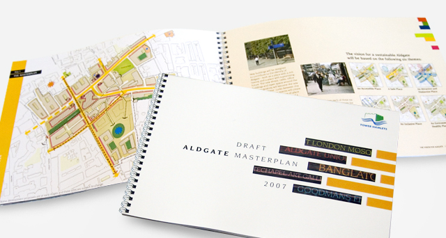 Aldgate Area Masterplan document