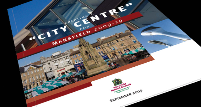 Creating a City Centre for Mansfield