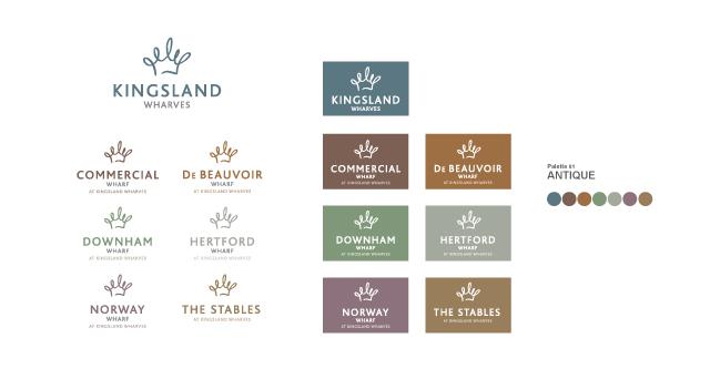 Kingsland-Wharves-Logo-Set