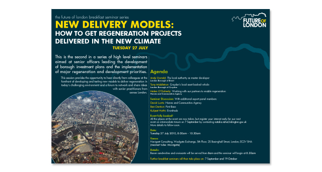 New Delivery Models Flyer