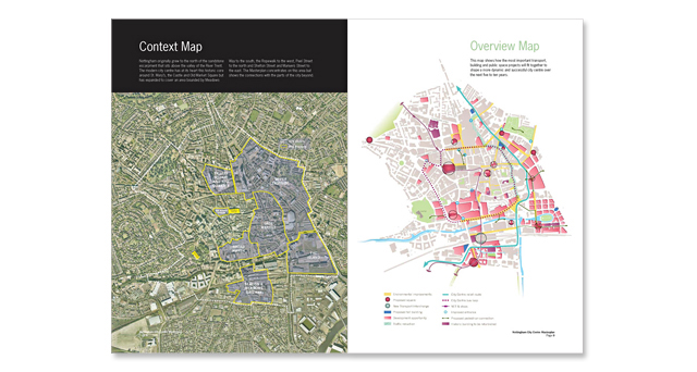 Nottingham City Centre Masterplan 2