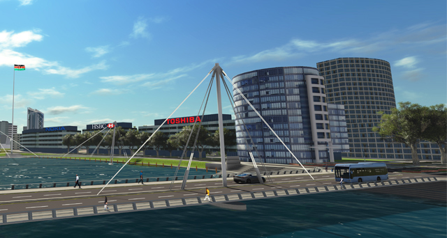 BPO Technology Park 3D visualisation