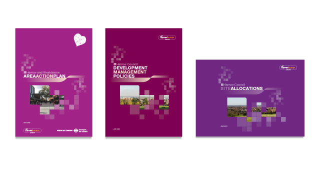 Development Plan Document Covers