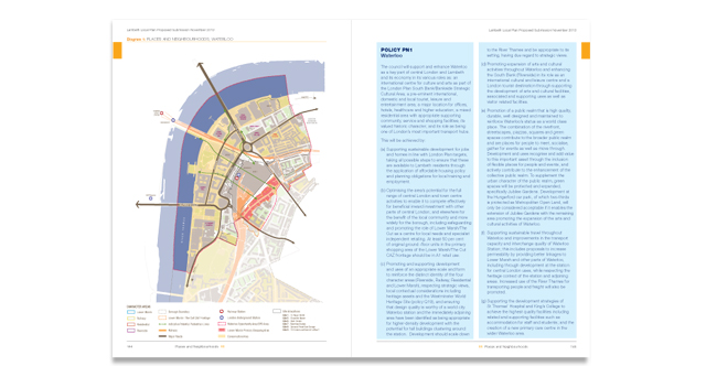 Lambeth Local Plan Spread
