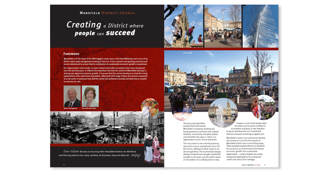 Creating a City Centre for Mansfield 3