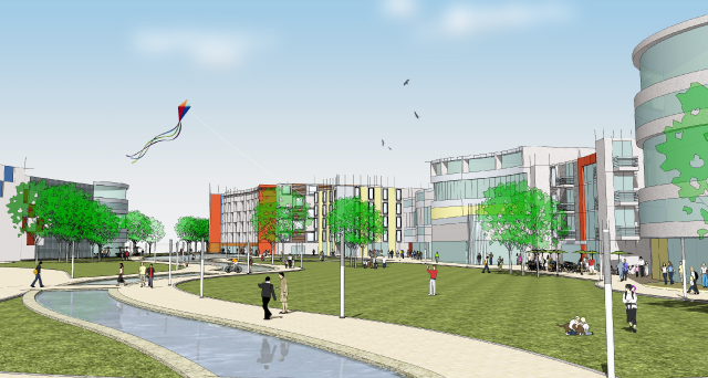Creating a City Centre for Mansfield 5
