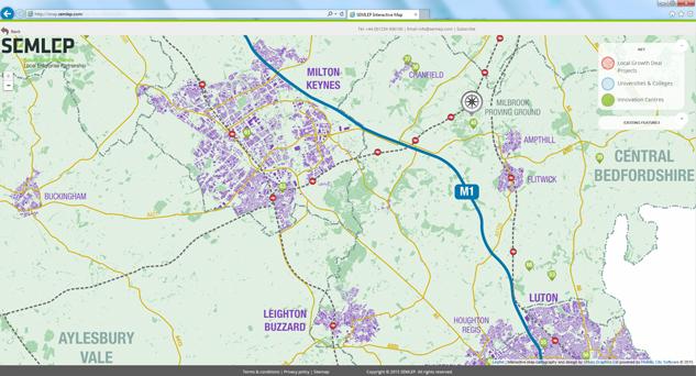 SEMLEP Interactive Map